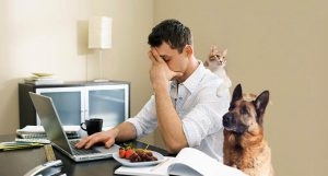ข้อเสียการทำงานที่บ้าน